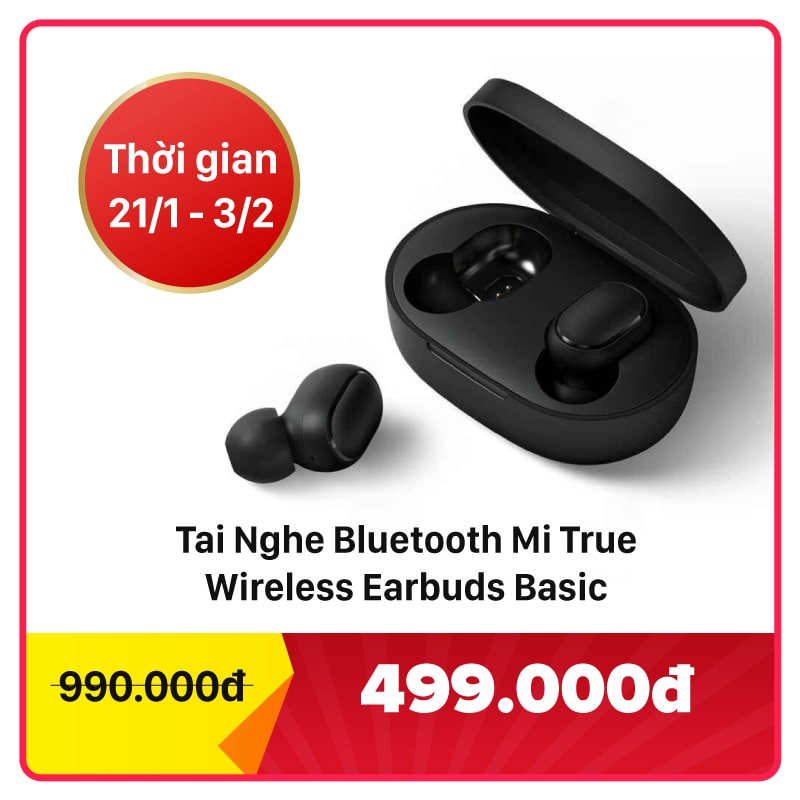 Tai nghe Bluetooth Mi True Wireless Earbuds Basic