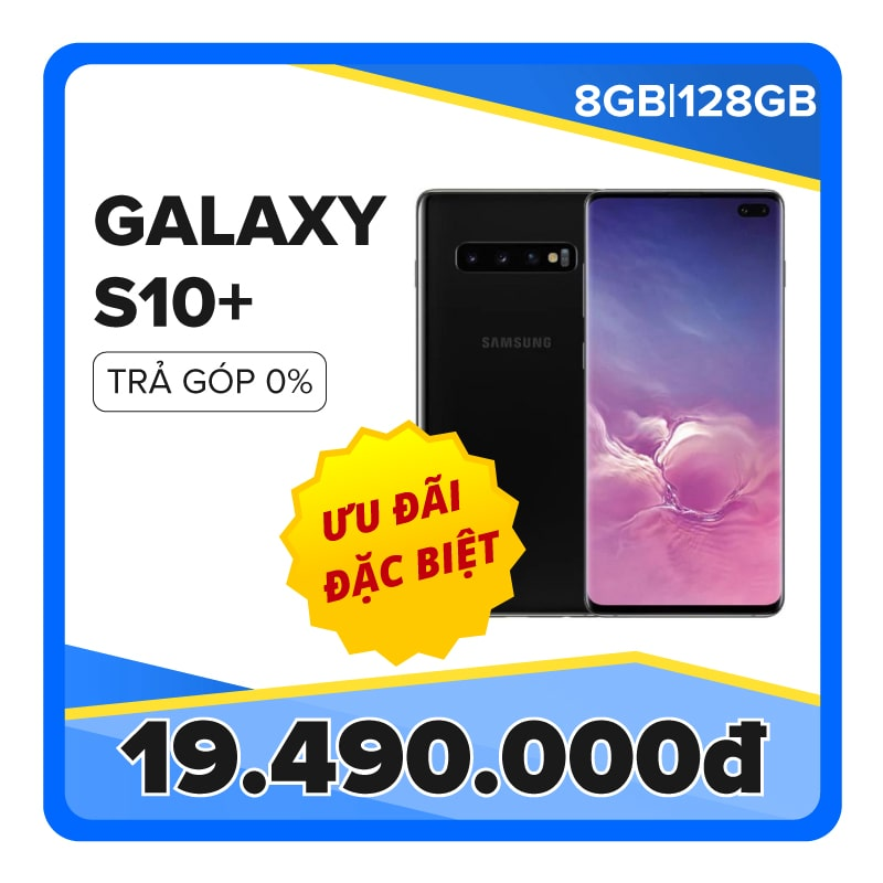 Samsung Galaxy S10 Plus SM-G975F/DS (8GB|128GB) (CTY)