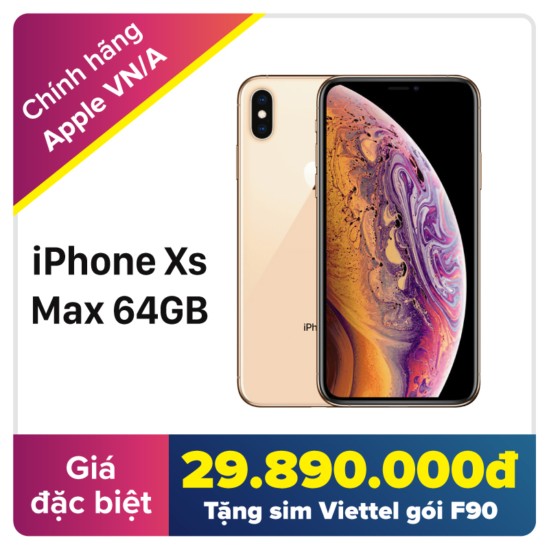 iPhone Xs Max 64GB (VN/A)