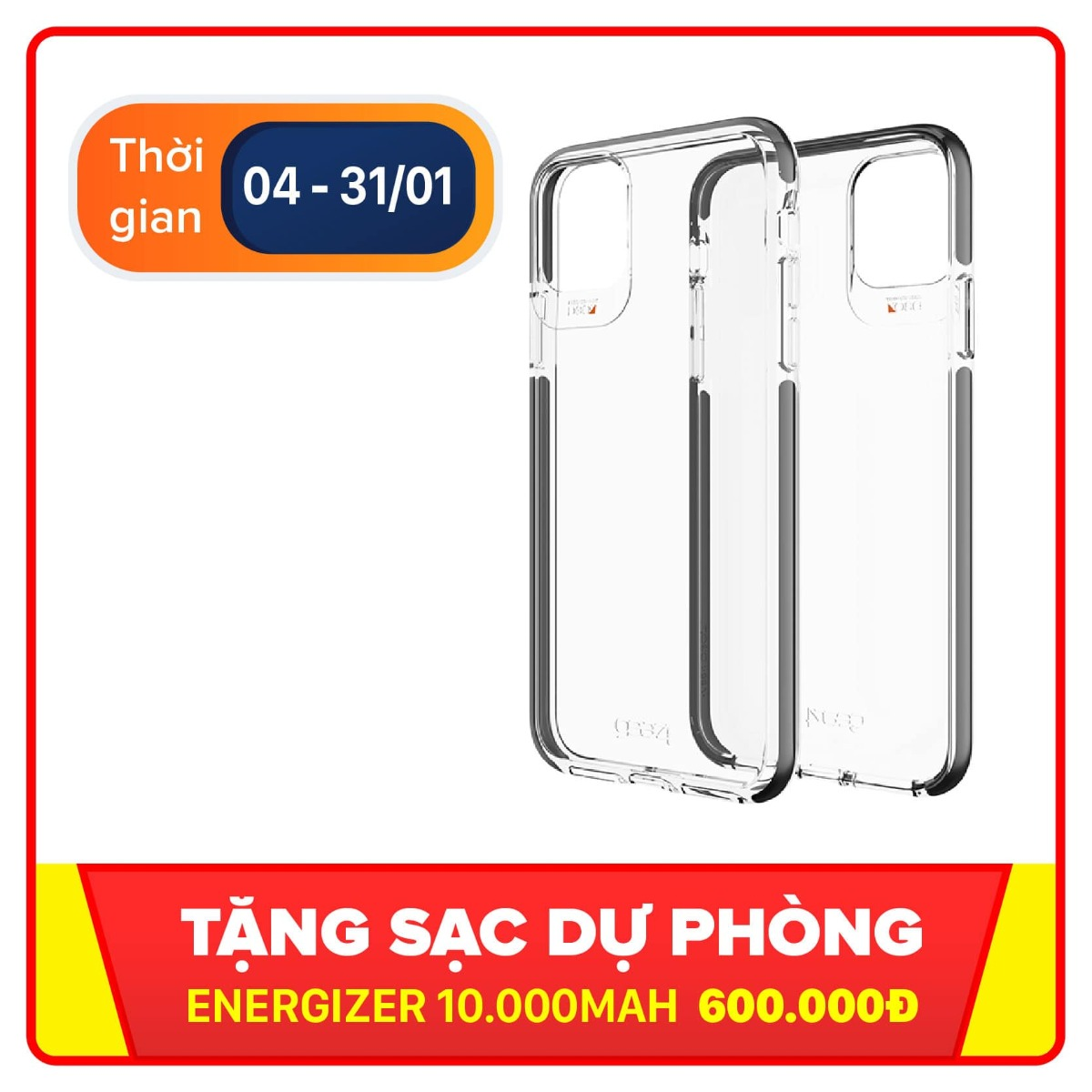 Ốp lưng chống sốc iPhone 11 Pro GEAR4 D3O Piccadilly