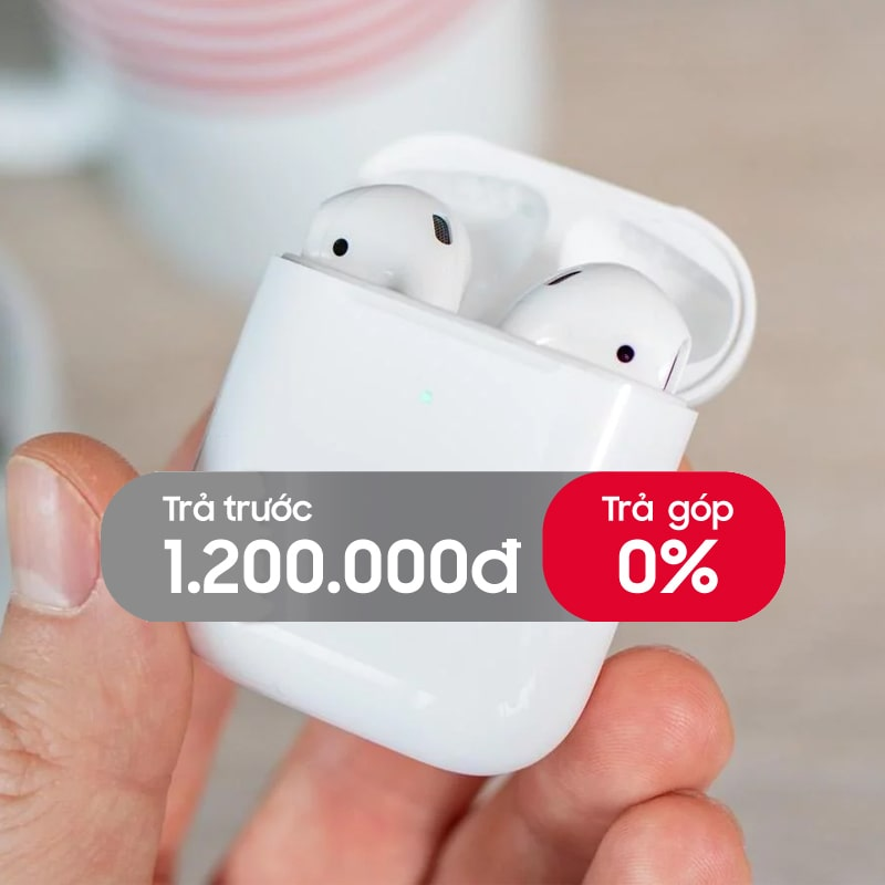 Tai nghe Bluetooth Apple AirPods 2 (with Wireless Charge) chính hãng