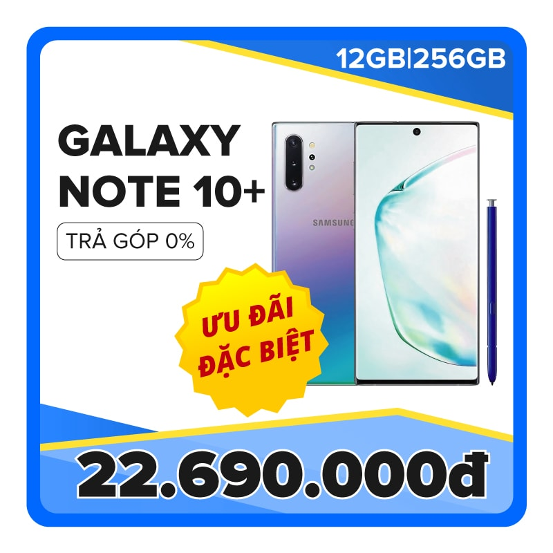 Samsung Galaxy Note 10 Plus (12GB|256GB) (CTY)