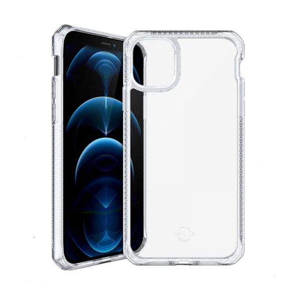 Ốp lưng iPhone 12 Pro Max Itskins HYBRID CLEAR (Trong suốt)