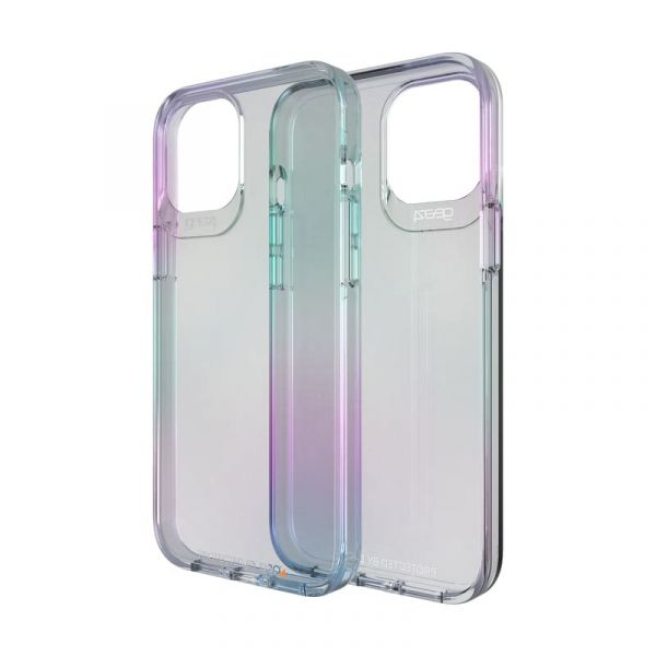 Ốp lưng iPhone 12 Pro Max chống sốc GEAR4 D3O Crystal Palace Iridescent 702006065