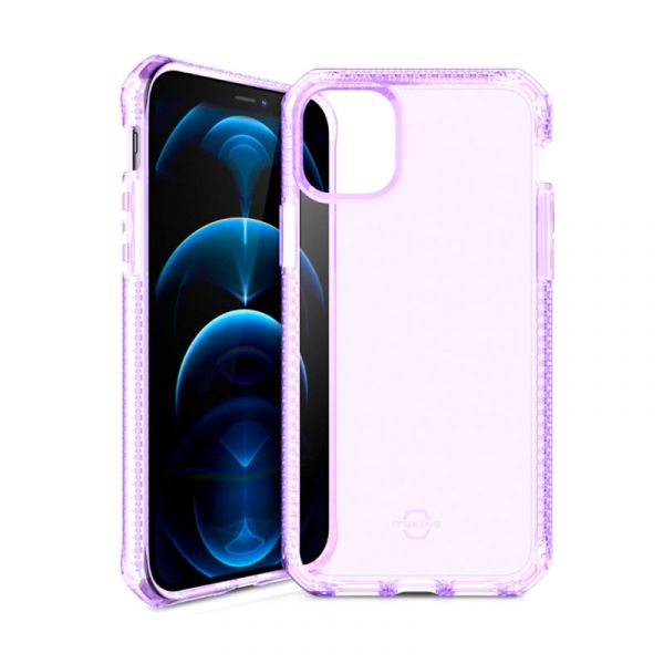 Ốp lưng iPhone 12 Pro Max Itskins SPECTRUM CLEAR ANTIMICROBIAL