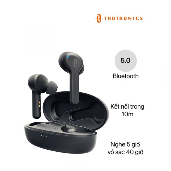 Tai nghe Bluetooth TaoTronics TWS Wireless 5.0 (TT-BH053)