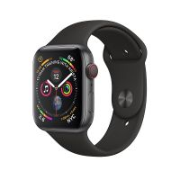 Apple Watch Series 4 Space Gray Aluminum 40mm Black Sport Band (GPS)